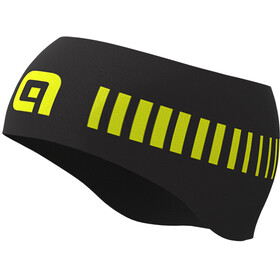 Alé Cycling Strada Stirnband Herren black/fluo yellow